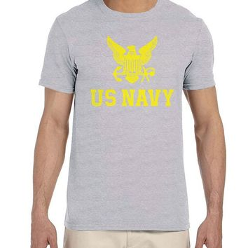 O Neck Shirt Plus Size T-shirt Us Navy United States Of America Combat Soldier Mens T Shirt