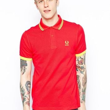 Fred Perry Tournament Polo Shirt - Spain