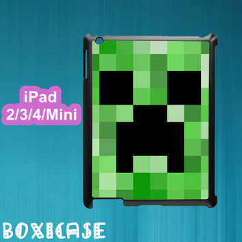 Minecraft Creeper--ipad 2 case,ipad 3 case,ipad 4 case,ipad mini case,in plastic