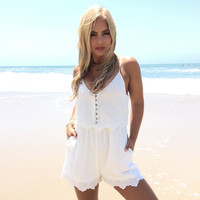 Eyelet You In Romper