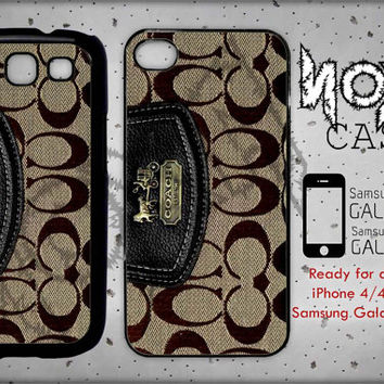 Coach Wallet - iPhone cases 4/4S Case iPhone 5/5S/5C Case Samsung Galaxy S3/S4 Case
