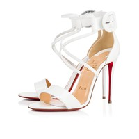 Cl Christian Louboutin Choca Latte Patent Leather 18s Bridal 1181112wha8 - Best Online Sale