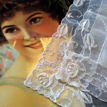 Wedding Accessory Handkerchief Something Old Bridal Lace Hankies