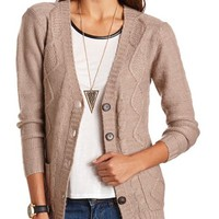 BUTTON-DOWN GRANDFATHER CARDIGAN