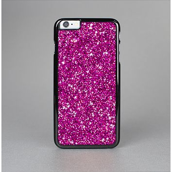 The Bright Pink Glitter Skin-Sert Case for the Apple iPhone 6
