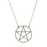 Me & Zena Pentagram Necklace