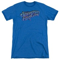 Jefferson Airplane - Gradient Logo Adult Heather
