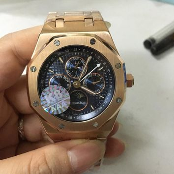 cc hcxx AP multifunction automatic rose gold blue