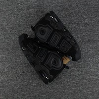Best Deal Online Nike Air More Uptempo x Supreme Black Men Sneakers Women Sports Shoes