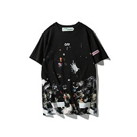 Cheap Women's and men's OFF WHITE t shirt for sale 501965868-023