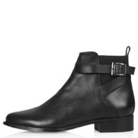 BLANCHE Ankle Boots - Black