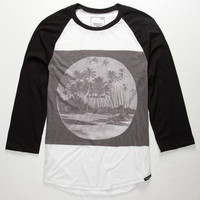 Ezekiel Tunnel Vision Mens Baseball Tee Black  In Sizes