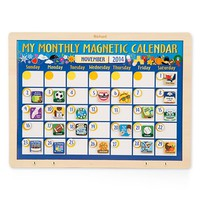 Toddler Melissa & Doug Personalized 'My Monthly Magnetic Calendar'