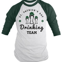 St. Patrick's Day Drinking Team Raglan