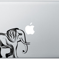 Elephant laptop DECAL macbook iPad computer Gadget by EyvalDecal