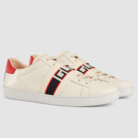 GUCCI 2018 new summer fashion hipsters wild white shoes casual running shoes F0765-1