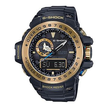Casio G-Shock Master of G Gulfmaster - Black and Gold - Solar - Atomic - 200m