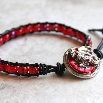 Red dragon bracelet