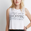 Give Up Shopping Muscle Tee