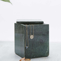 Tall Green Marble Box - Urban Outfitters