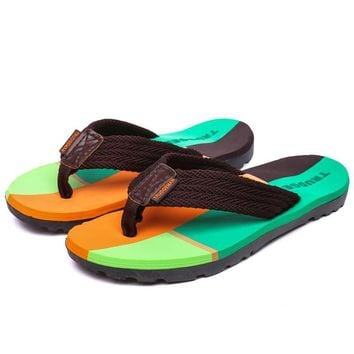 Plus Size 36-45 Couple Women Slippers Flip Flops Summer Beach soft Shoes Slides Unisex