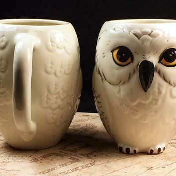 Harry Potter Hedwig Owl Coffee Mug