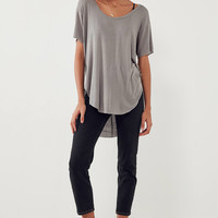 Silence + Noise Sylvan Scoopneck Tee | Urban Outfitters