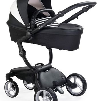 Mima Xari Black Frame Stroller with Reversible Reclining Seat & Carrycot   Nordstrom