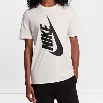 NIKE Women Men Hot letters print T-shirt top-1
