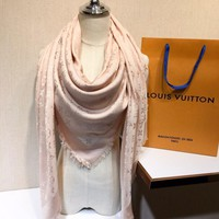 2017 autumn and winter LV most classic scarf