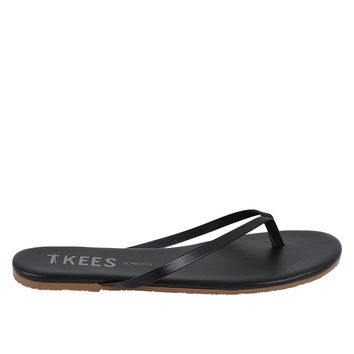 TKEES Liners Flip Flops in Sable