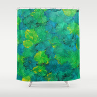Favorite Colors in Nature Shower Curtain by  #RokinRonda