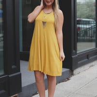 Perfect Match Dress - Sunflower