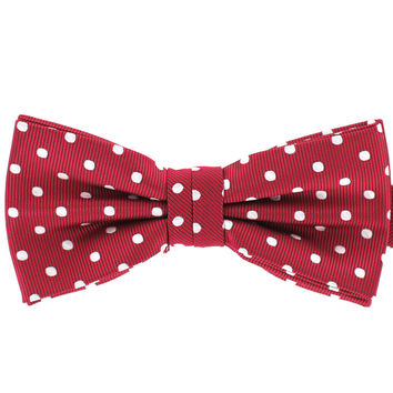 Tok Tok Designs Baby Bow Tie for 14 Months or Up (BK409, Burgundy)