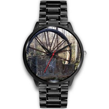 Old Water Wheel Watch