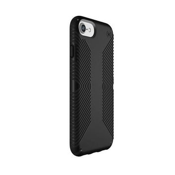 Speck Products Presidio Grip Case For Iphone 8 (also Fits 7/6s/6) Black/black