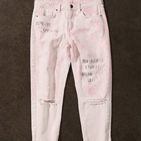 Hope Joy Bleached Jeans