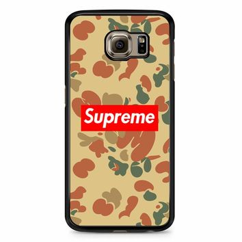 Supreme Camo Samsung Galaxy S6 Edge Plus Case
