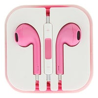 Vibrant Pink Earbuds