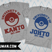 Pokemon Universities | lookhuman.com