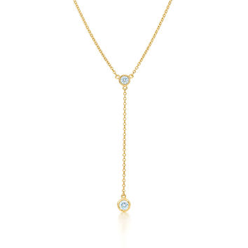 Tiffany & Co. - Elsa Peretti®:Diamonds by the Yard® Necklace