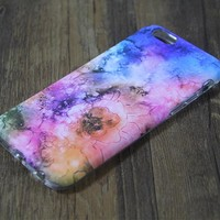 Nebula Galaxy Floral Tough iPhone 6s SE Case iPhone 6 plus S7 Edge Case 221