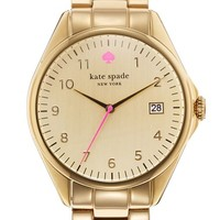 Women's kate spade new york 'seaport grand' bracelet watch, 38mm
