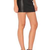 Bardot Mini Skirt in Black | REVOLVE