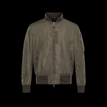 Moncler Down Quilted Varsity Jacket