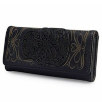 Sugar Skull Wallet by Loungefly (Black)