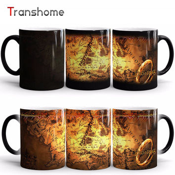 Coffee Mug The Lord Of Rings Ceramic Heat Sensitive Color Changing Mug Magic Cups And Mug