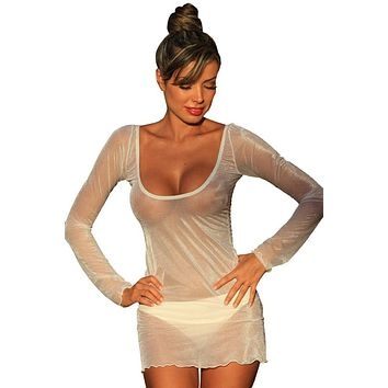 Oh Sheer Ultra Sexy Nightie Intimate Sleepwear