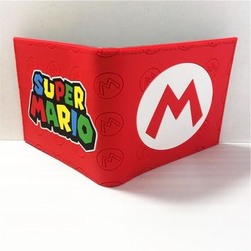 Super Mario party nes switch Game Nintendo  BROS. Logo wallets Purse Multi-Color 12cm W396 AT_80_8
