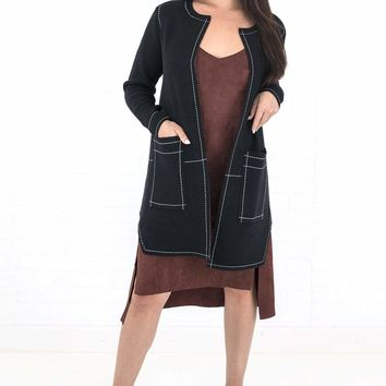 Women's Tribal Duster with Pockets